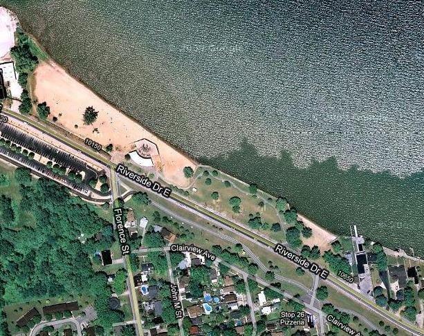 Sandpoint Beach: 10300 Riverside Dr E, Windsor, ON