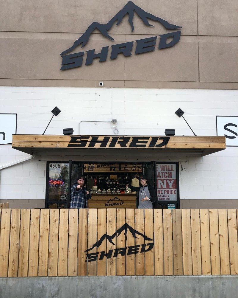 Shred: 4505 N Division St, Spokane, WA