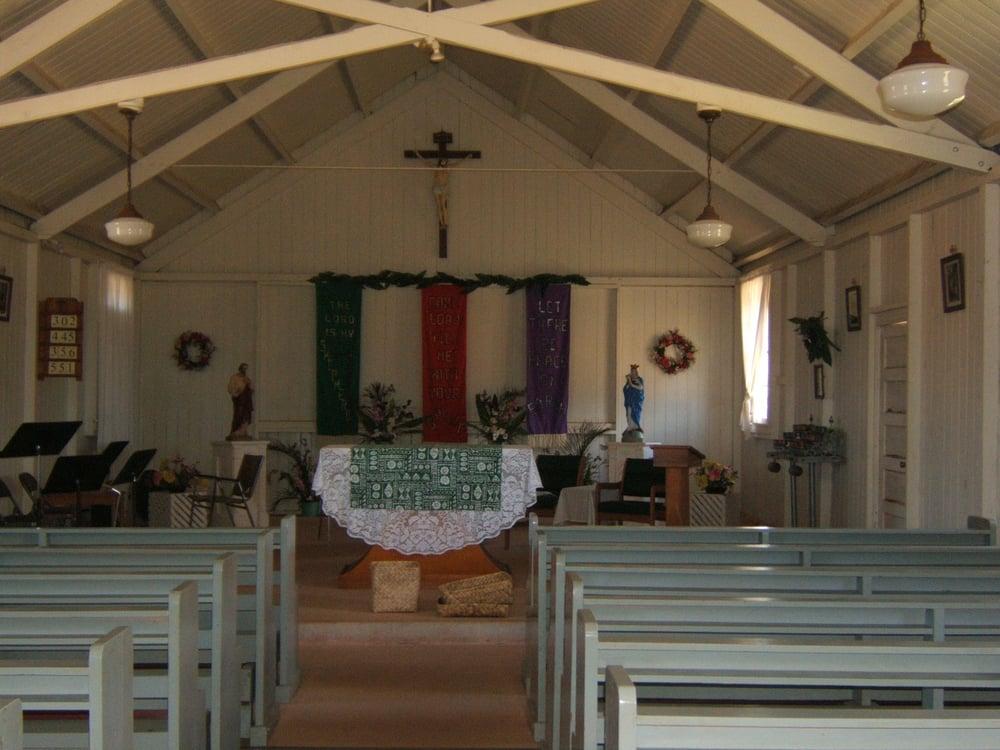 St.Vincent Ferrer Church: Maunaloa, HI