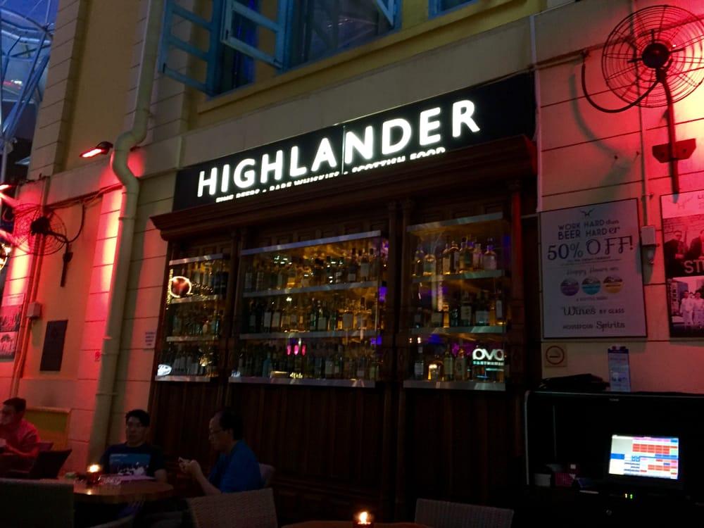 Highlander Bar Singapore