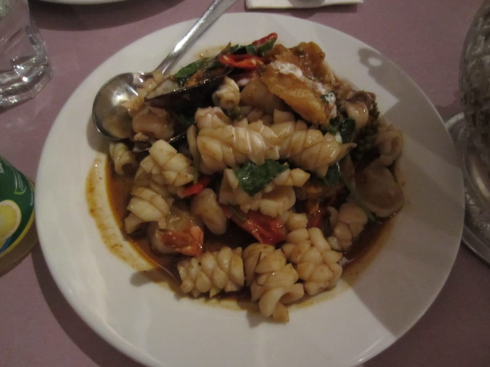 Seafood pad cha yelp for Amarin thai cuisine
