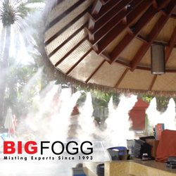 Big Fogg Misting Systems & Misting Fans - Misting System Services