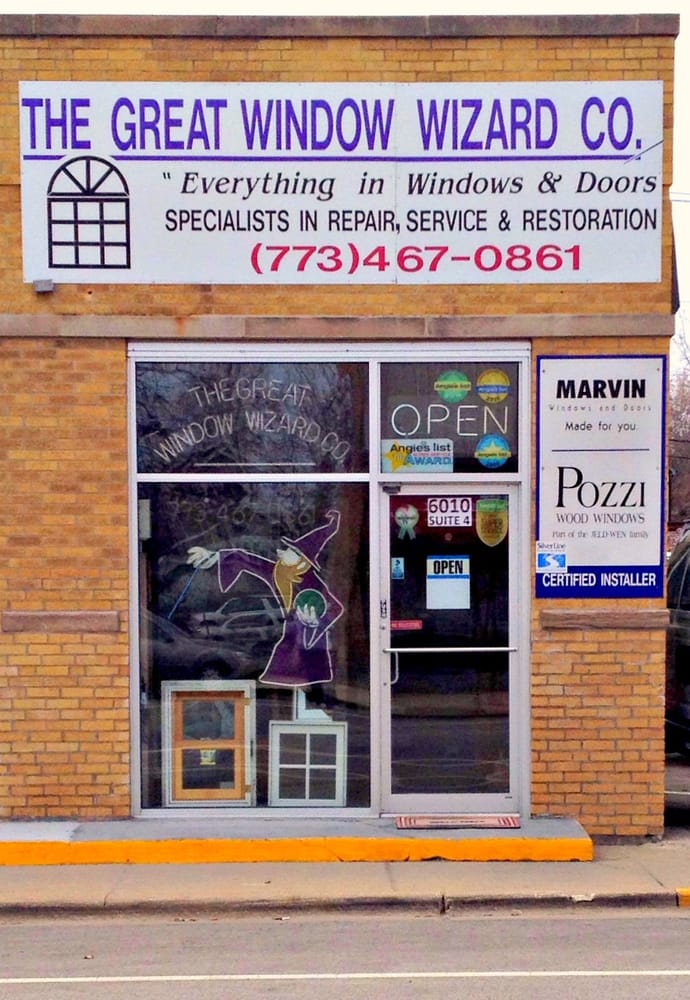 The Great Window Wizard Windows Installation 6010 N Northwest Hwy Norwood Park Chicago Il Phone Number Yelp