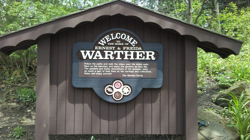The Warther Museum and Gardens: 331 Karl Ave, Dover, OH