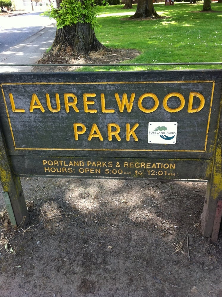 Laurelwood park park forests se 64th st foster rd for Laurel wood