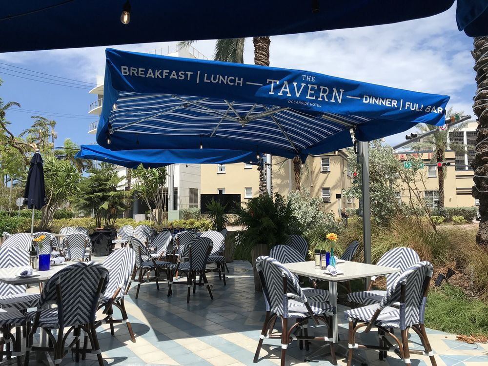 Photo Of The Tavern Miami Beach Fl United States Outside Seat