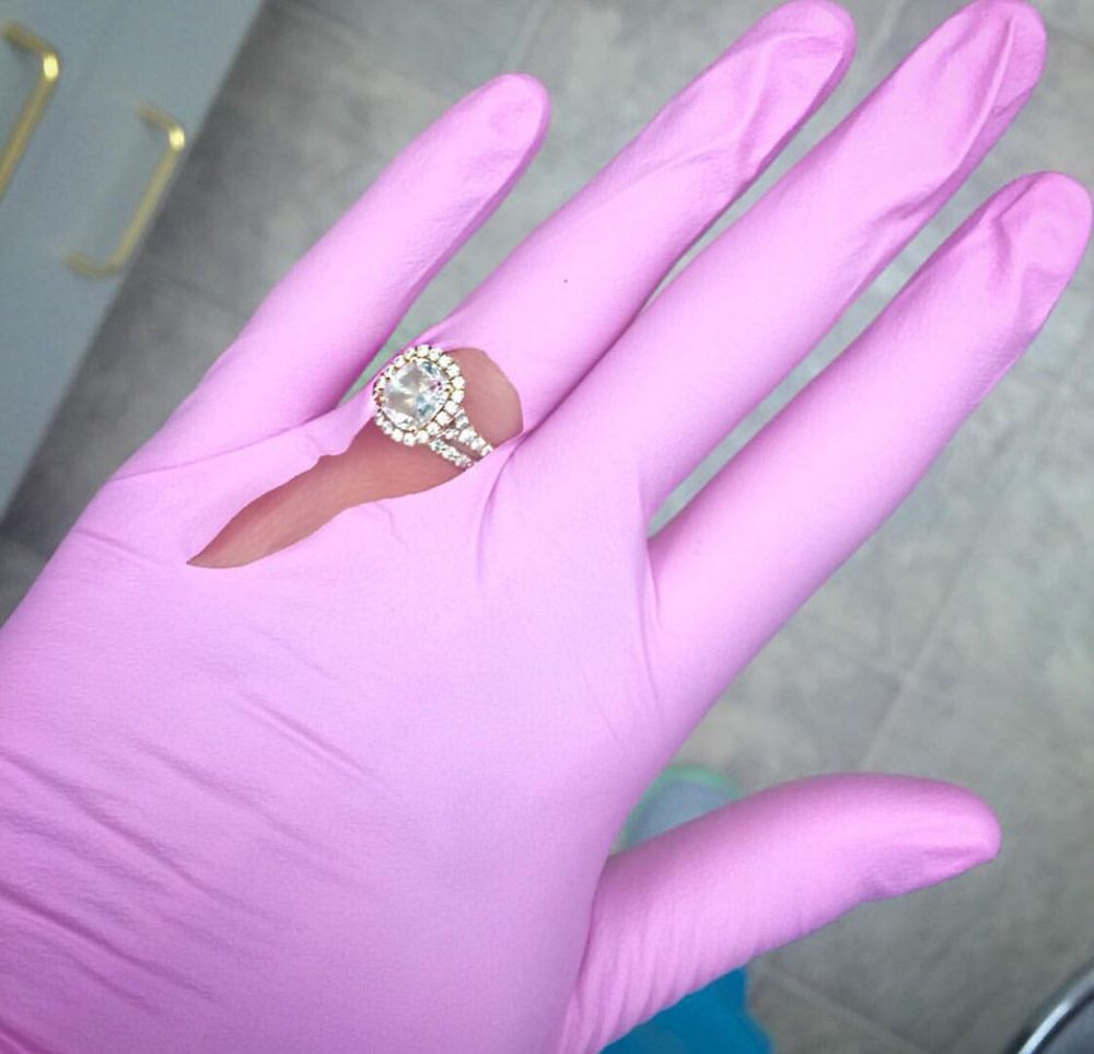My engagement ring is so BLING-TASTIC it cuts through my gloves at ...