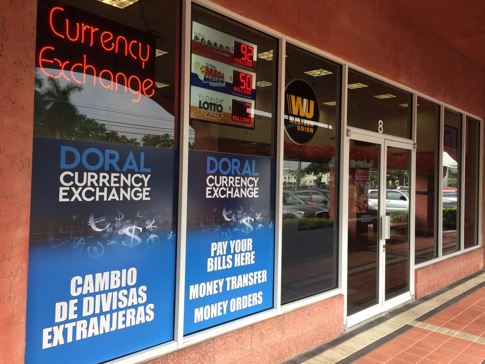 Doral Currency Exchange: 2600 NW 87th Ave, Doral, FL