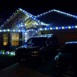 photo of plano christmas lighting mckinney tx united states white blue - Plano Christmas Lights