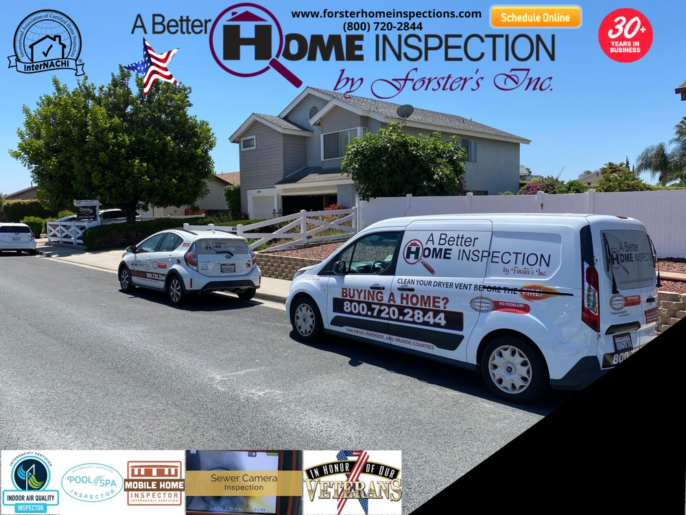 A Better Home Inspection By Forster's