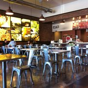 Mama Pita Mediterranean Grill - Plano, TX, United States. Clean and spacious with a ton of small tables, not a place for large parties but a good one for lunch dates