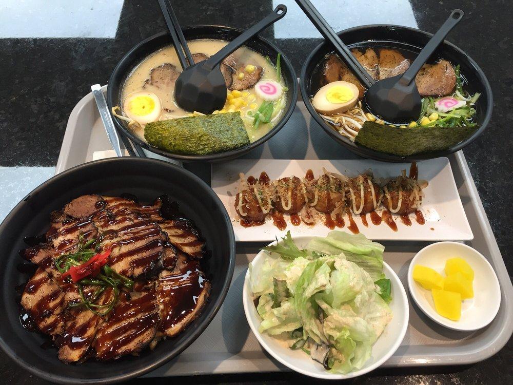 Food from Ichido Ramen