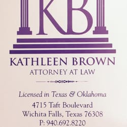 Photo of Kathleen Brown Attorney At Law - Wichita Falls, TX, United States