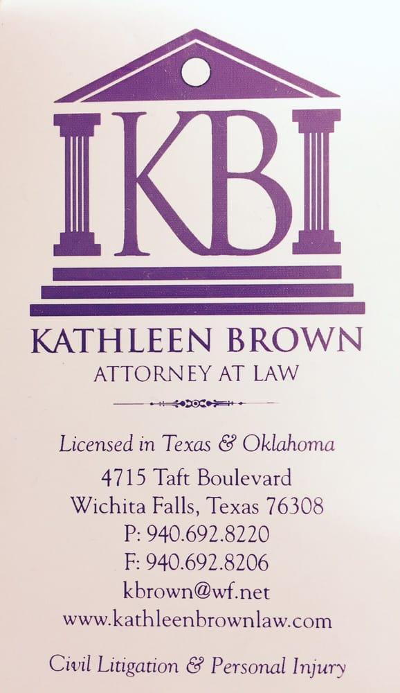 Kathleen Brown Attorney At Law: 4715 Taft Blvd, Wichita Falls, TX