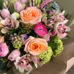Photo of Garden Party Flowers - Vancouver, BC, Canada. Today's Designer's Choice Bouquet