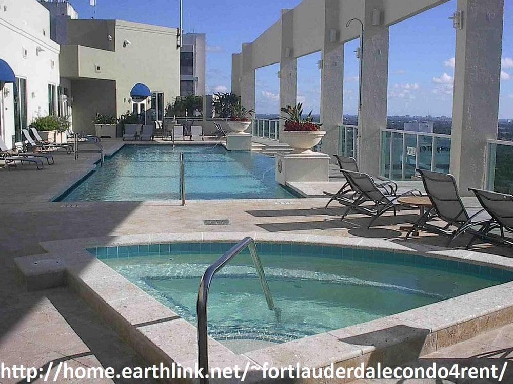 350 las olas place condominium rooftop infinity swimming for Pool design fort lauderdale