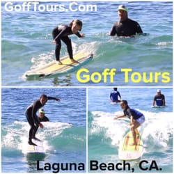 ebc6779d9bc5 Photo of GoffTours - Laguna Beach, CA, United States. Surfing lessons in  Laguna