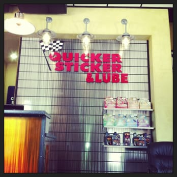 Photo of quicker sticker lube baytown tx united states waiting area
