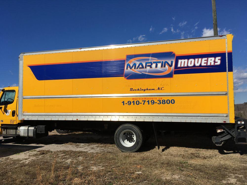 Martin Movers: 128 Industrial Park Dr, Rockingham, NC