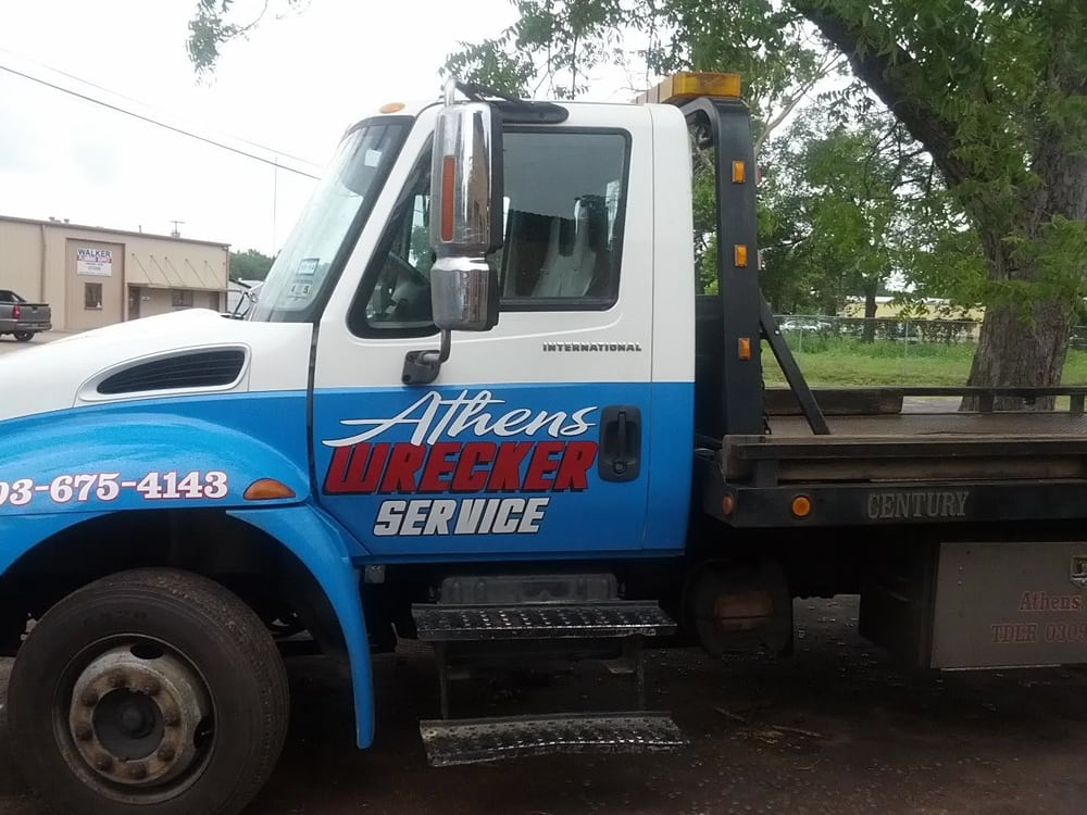 Athens Wrecker Service: 711 N Prairieville St, Athens, TX