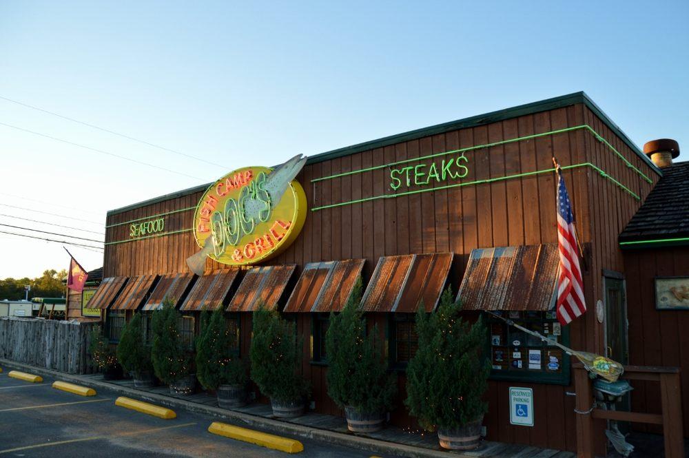 Doc's Fish Camp & Grill: 900 Fm 1431 W Hwy 281, Marble Falls, TX