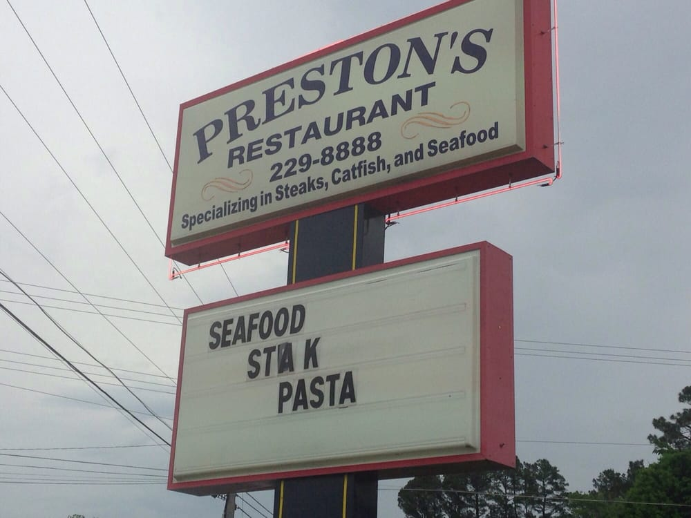 Preston's Restaurant: 11360 Highway 101, Lexington, AL