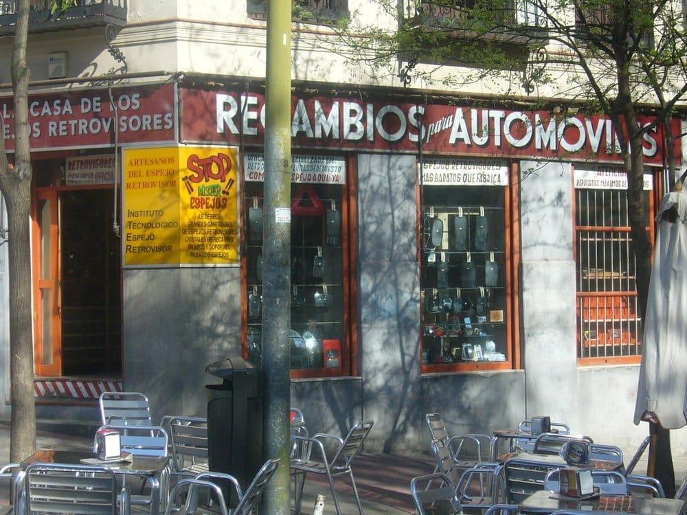 La casa de los espejos retrovisores repuestos y - Repuestos persianas madrid ...