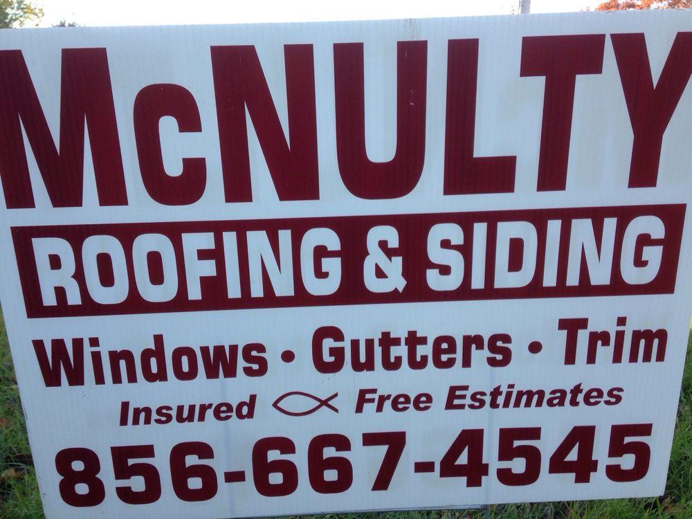 McNulty Roofing & Siding Company: 116 Columbia Blvd, Cherry Hill, NJ