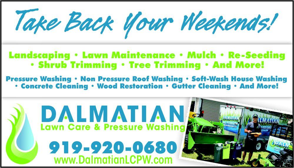 Dalmatian Lawn Care & Pressure Washing: 3900 E Ash St, Goldsboro, NC