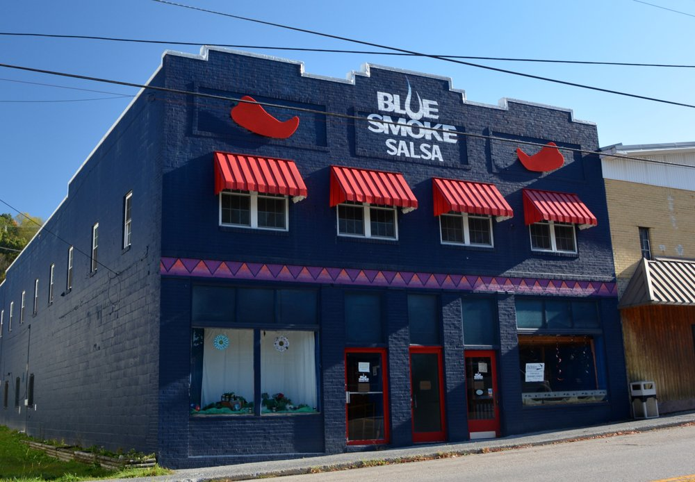 Blue Smoke Salsa: 119 East Main St, Ansted, WV