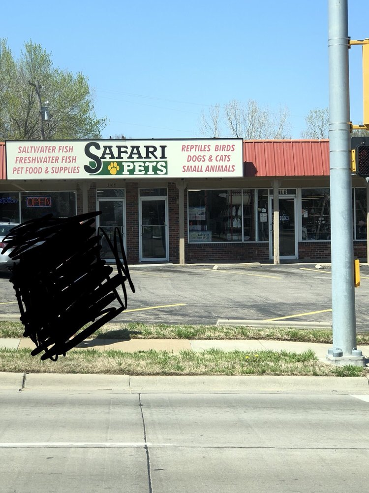 Safari Pets: 3108 SW 29th St, Topeka, KS