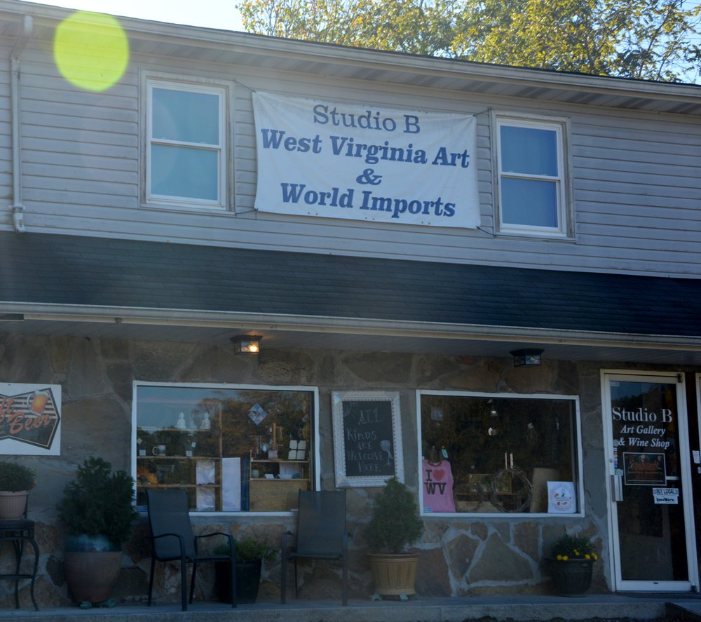 Studio B Gallery & Gifts: 309 Keller Ave, Fayetteville, WV