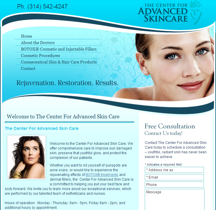 The Center For Advanced Skin Care