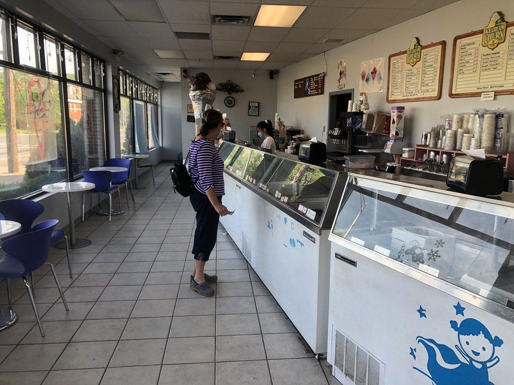 Churn Ice Cream Shoppe: 45 N Main St, Bristol, CT