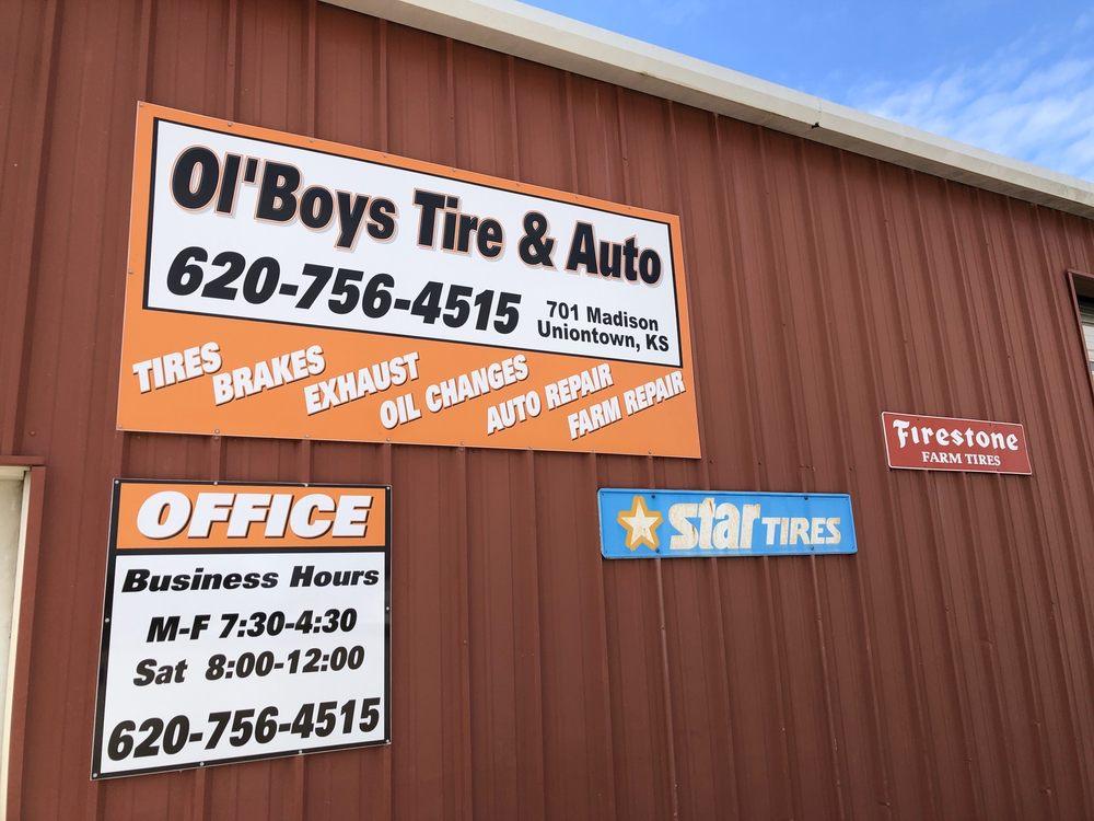 Ol'Boys Tire And Auto: 701 Madison, Uniontown, KS