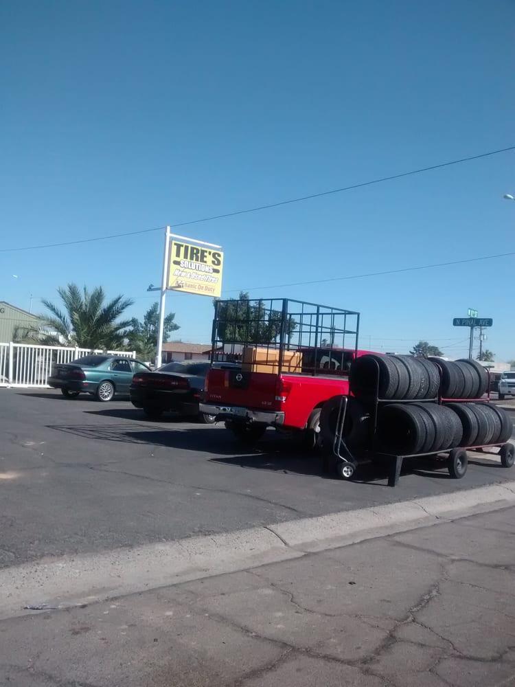 Tire Solutions: 1101 N Pinal Ave, Casa Grande, AZ