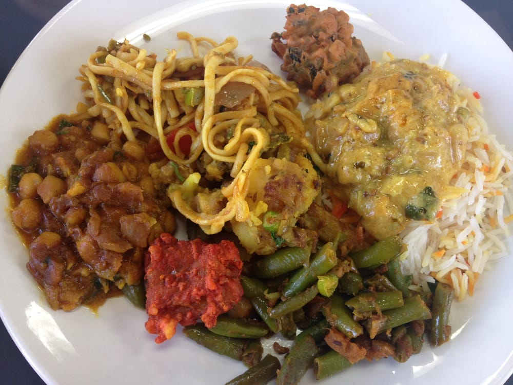 Lunch buffet vegetarian fish options yelp for Fish buffet near me