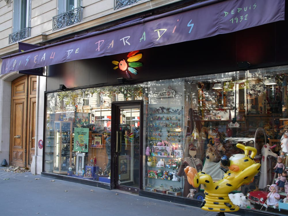 l oiseau de paradis negozi di giocattoli 211 bd saint germain 4 me parigi paris francia. Black Bedroom Furniture Sets. Home Design Ideas