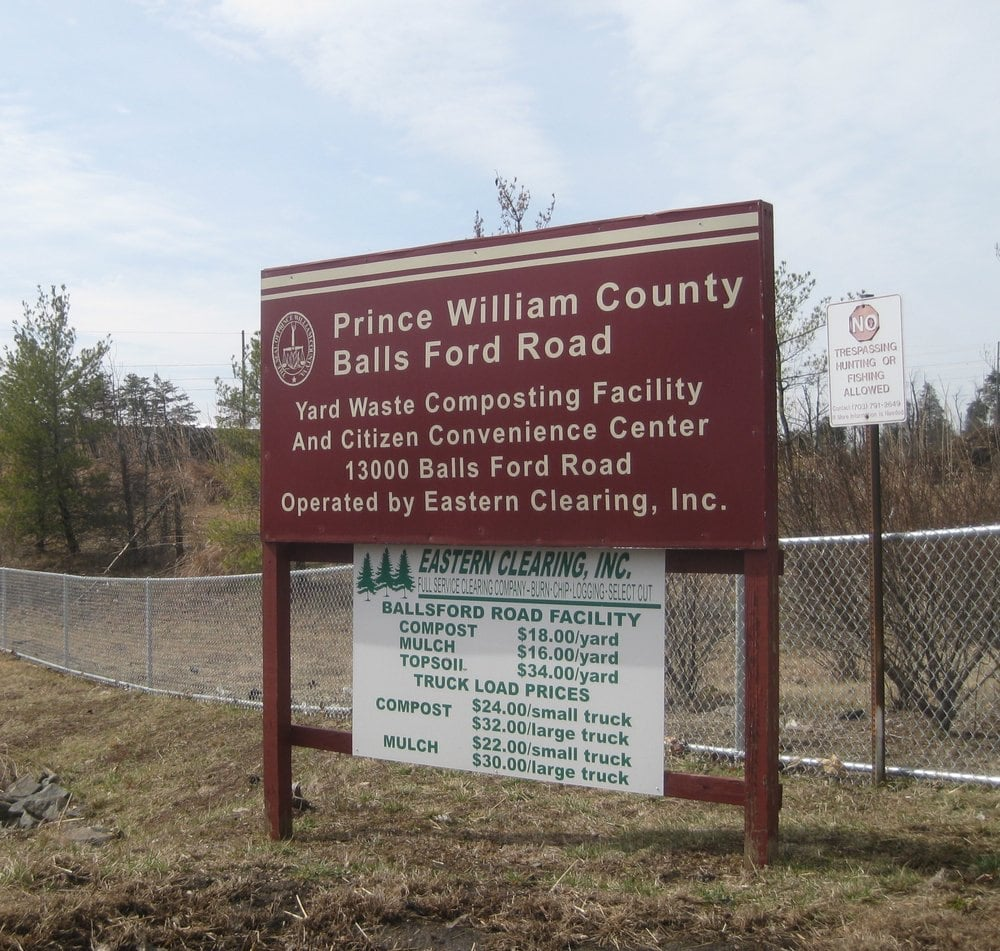 Prince William County Balls Ford Road Composting Facility: 13000 Balls Ford Rd, Manassas, VA