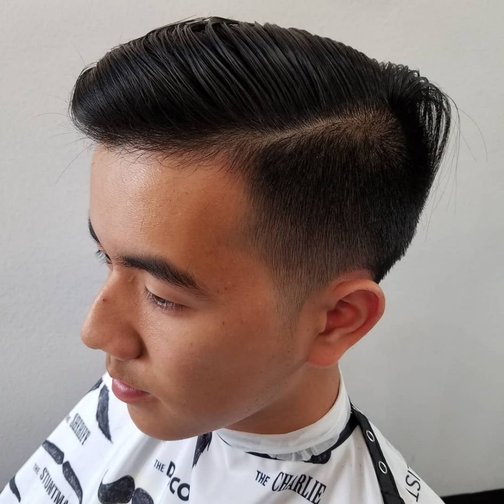 Undercut. 3 on the sides and tapered with a half. , Yelp