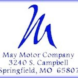 May Motor Company Car Dealers 3240 S Campbell Ave Springfield