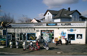rollerpoint frankfurt geschlossen motorradh ndler hanauer landstr 565 fechenheim. Black Bedroom Furniture Sets. Home Design Ideas