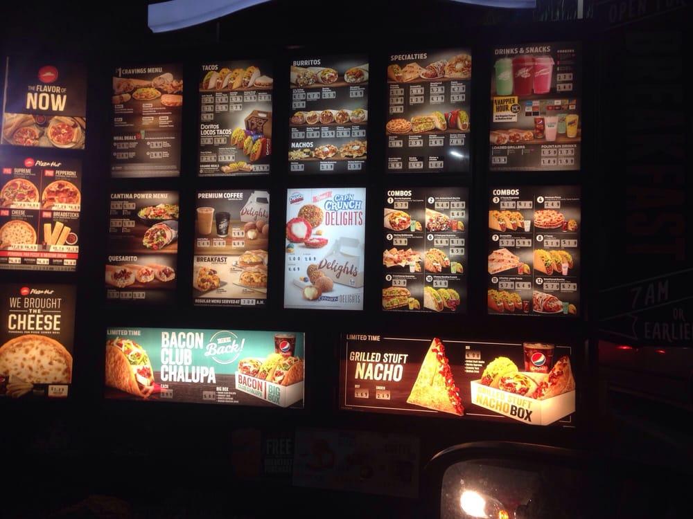 Taco Bell 15 Photos Fast Food Hollywood Los