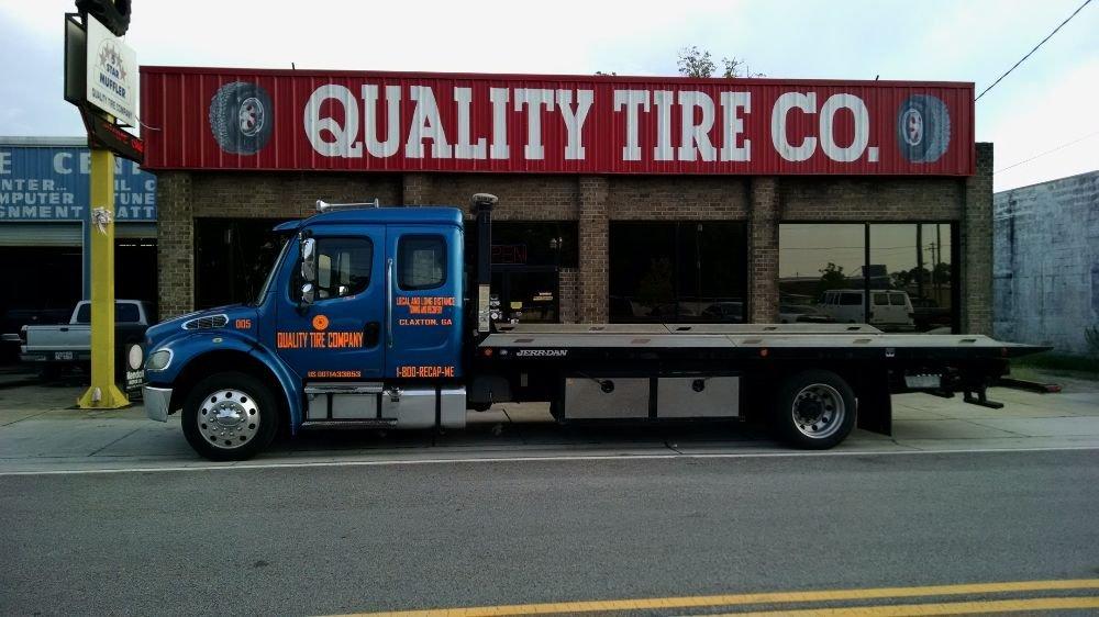 Quality Tire Company: 205 E Railroad St, Claxton, GA