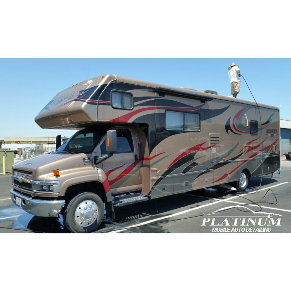 Automobile Platinum: RV And Trailer Washing And Waxing Services Available. Roof