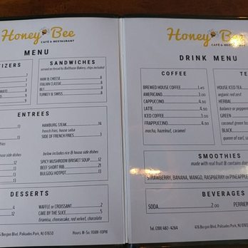 Honey Bee Cafe And Restaurant Nj