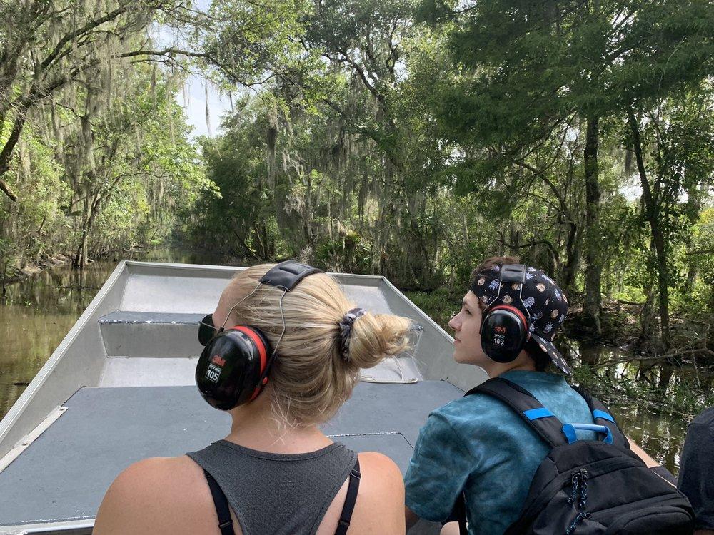 Bayou Black Air Boat Swamp Tours: 125 Gator Ct, Gibson, LA