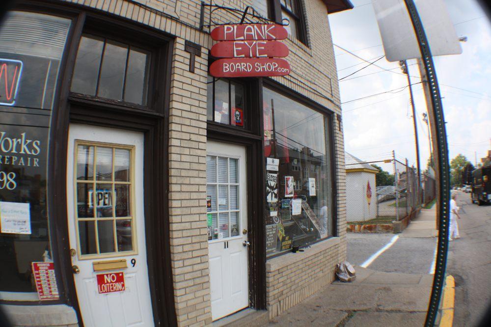Plank Eye Board Shop: 11 Sheridan Ave, Bellevue, PA