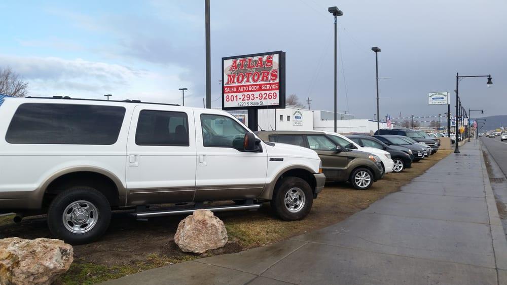 Atlas Motors Car Dealers 4220 South State St Salt Lake City Ut Phone Number Yelp