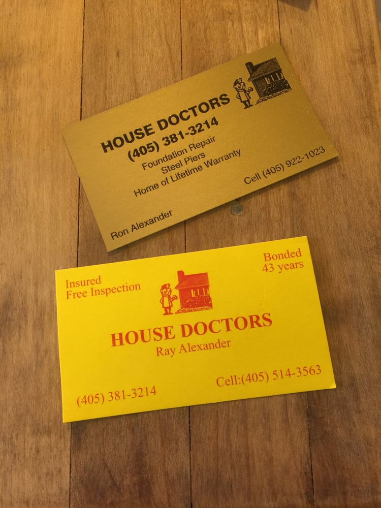 House Doctor Foundation & Home Repair: 118 Cottonwood Dr, Tuttle, OK